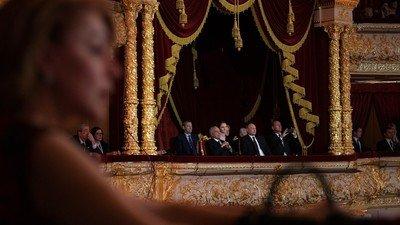 Владимир Путин в театре