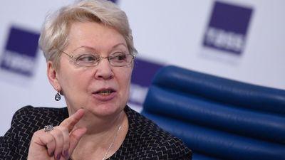 Министр просвещения Ольга ВАсильева
