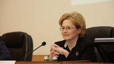 Вероника Скворцова - министр здравоохранения РФ