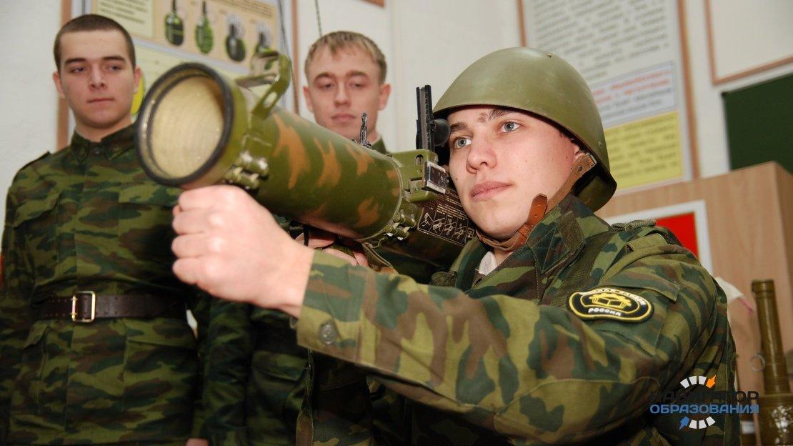 Студенты в армии