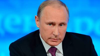 Владимир Путин - президент РФ