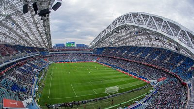 """Стадион """"Фишт"""" в Сочи"""