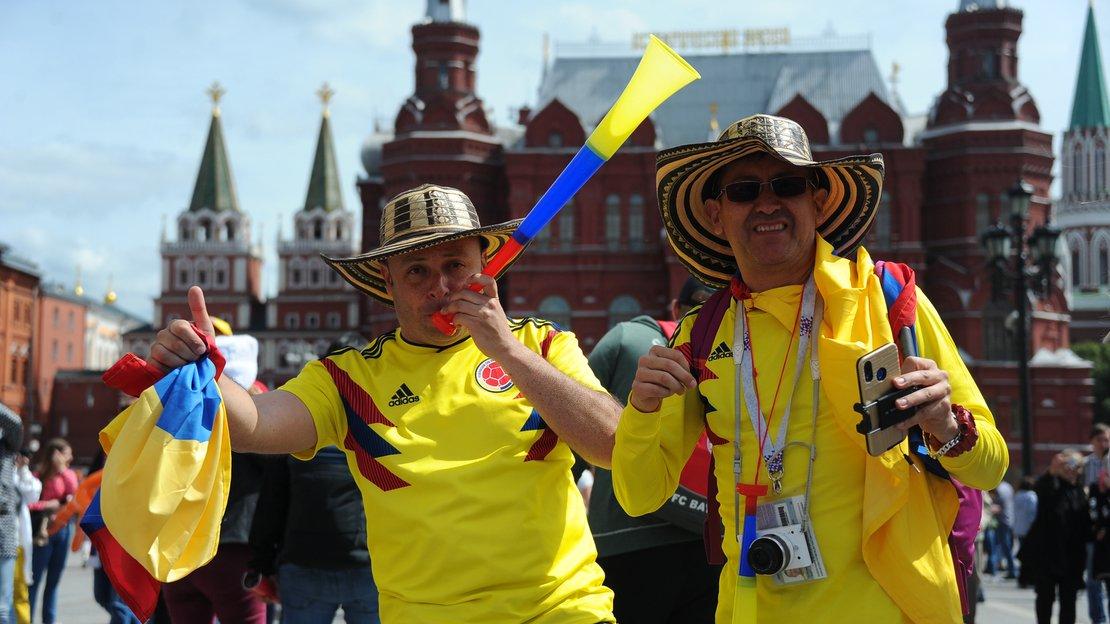 Футбольных фанатов интересовали в России стадионы и космос