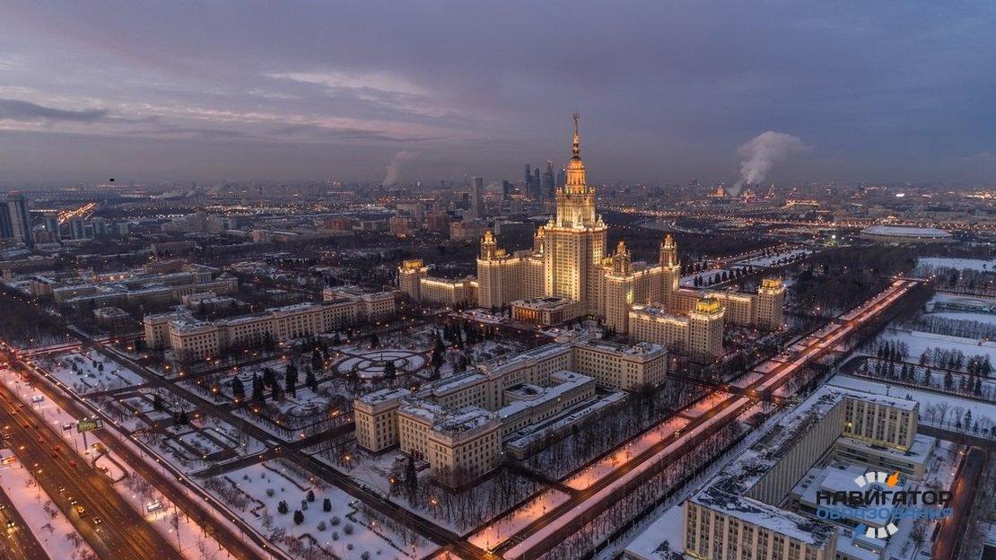 МГУ имени М.В. Ломоносова сохранил лидерские позиции в рейтинге RUR Subject Rankings