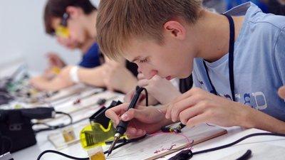 Школьники пробуют себя в профессии