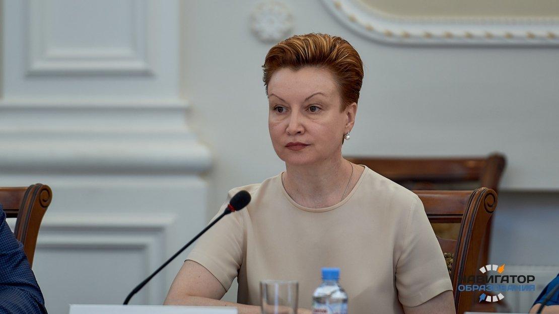 Заместитель министра просвещения Татьяна Синюгина