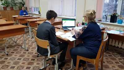 Ученики 9-ых классов из всех регионов РФ сегодня проходили собеседование по русскому языку
