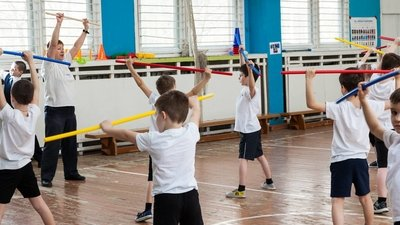 В московской школе прошло НИКО по физкультуре