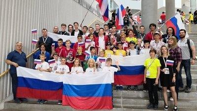 Сборная России завоевала три золотых медали на международных соревнованиях по робототехнике в Дании