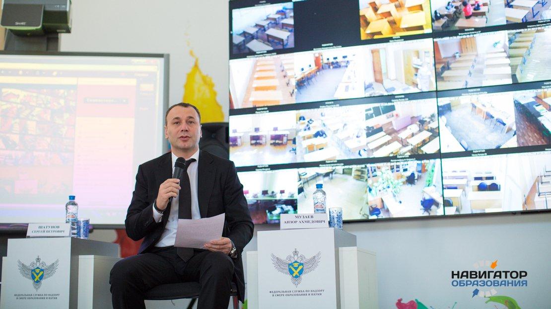 Анзор Музаев - врио главы Рособрнадзора