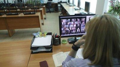 Дистанционное обучение российских школьников