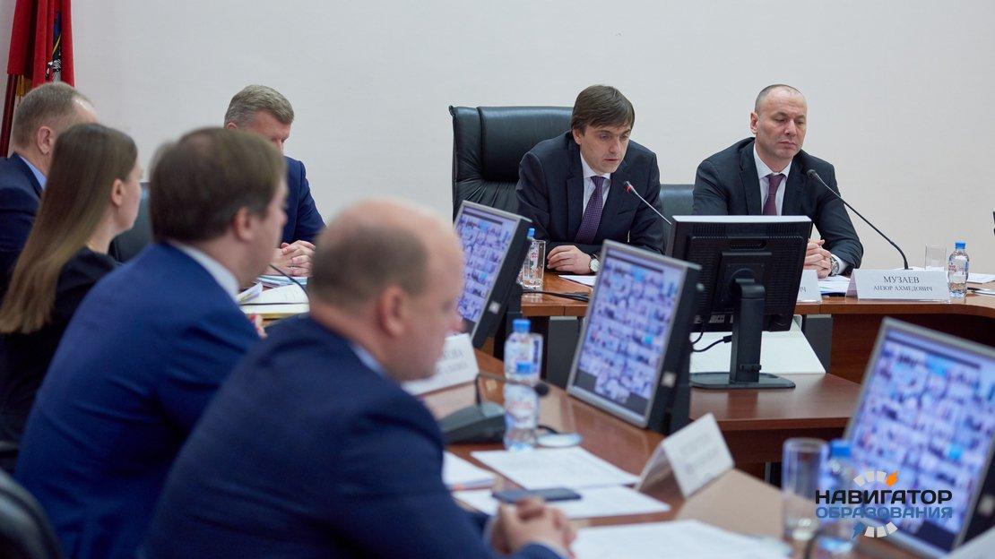 Сергей Кравцов и Анзор Музаев
