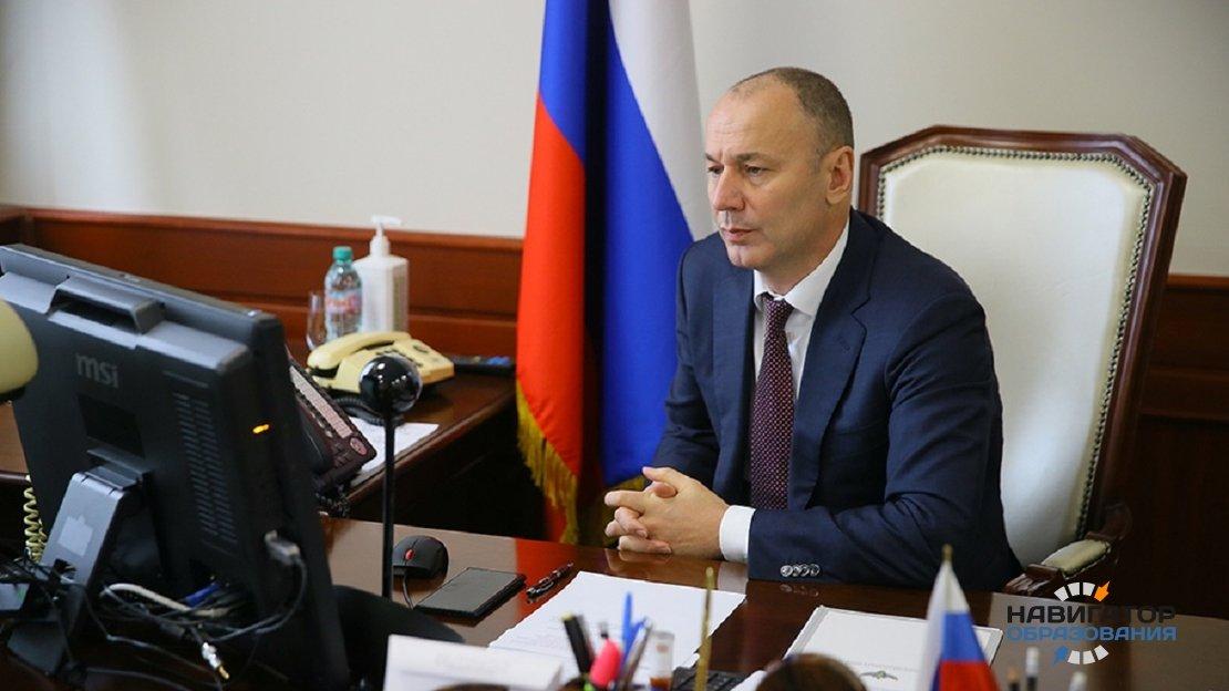 Анзор Музаев - глава Рособрнадзора