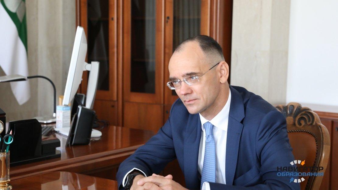 Дмитрий Глушко - первый замминистра просвещения РФ