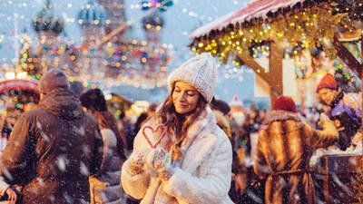 Москва новогодняя: зимним каникулам и забавам коронавирус не помеха!