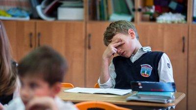 Школьники РФ жалуются на усталость и высокую учебную нагрузку