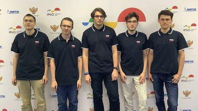 Победители Международной олимпиады по физике-2021