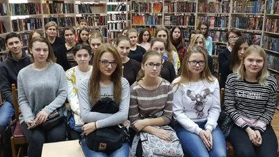 Студенты педагогического колледжа