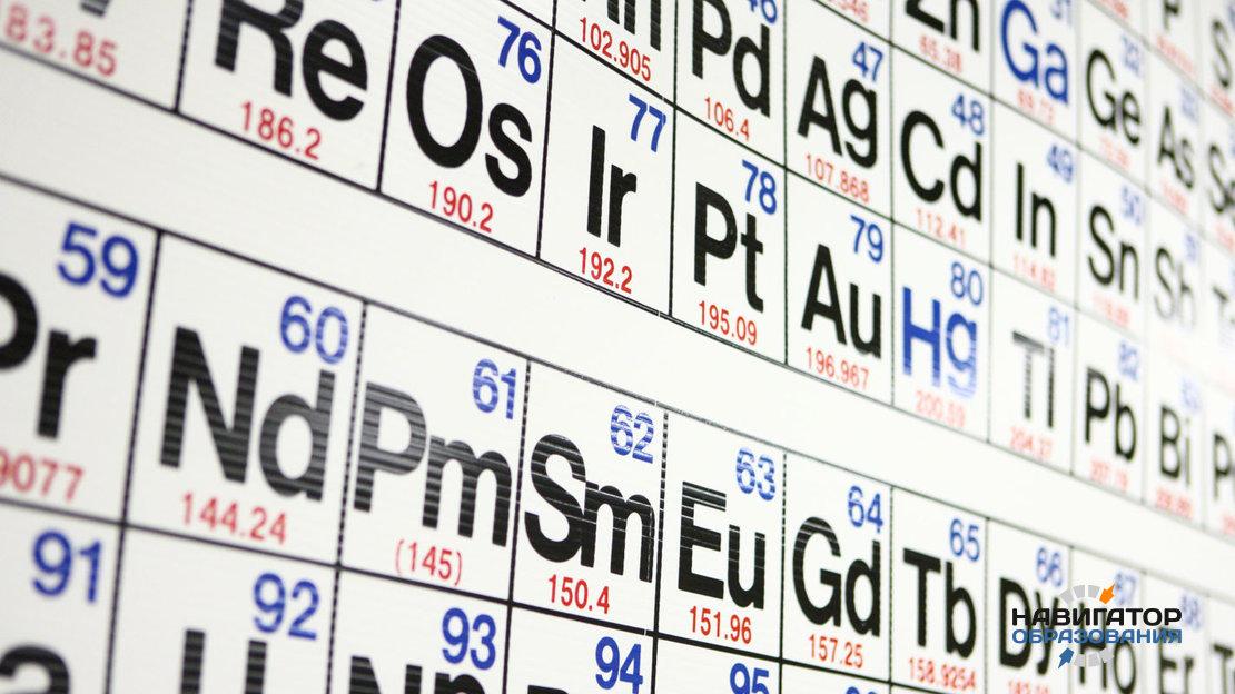 В таблице Менделеева появились четыре новых элемента