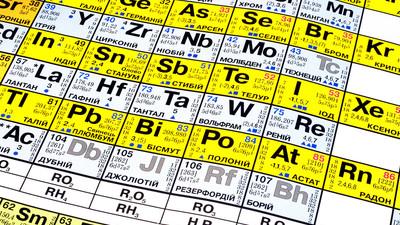 Периодическая таблица Менделеева пополнится 117 элементом