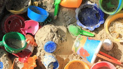 Первый поход в песочницу