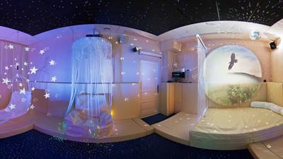 Сенсорная комната – особенности оснащения