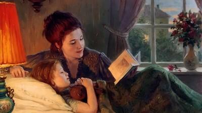 Чтение вслух прививает детям любовь к книгам