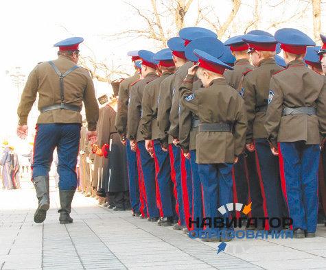 В Ставропольском крае продолжают развивать кадетское казачье образование