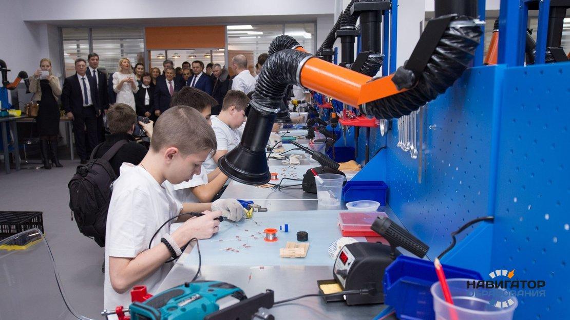 В России намерены развивать техническое творчество школьников