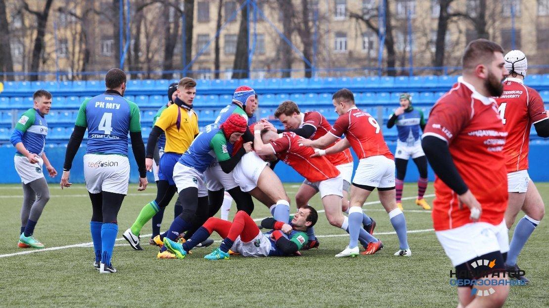 Студенты СПбГУ выбирают регби