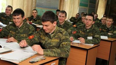 Минобороны РФ предлагает получать высшее образование прямо в части