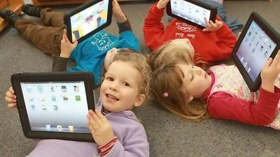 Планшеты станут частью образовательного процесса в российских детских садах