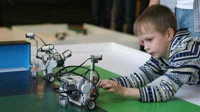 В «Артеке» состоялись соревнования роботов