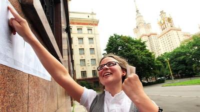 Свыше тысячи победителей школьный олимпиад зачислены в МГУ
