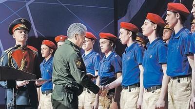 Всероссийское военно-патриотическое движение «Юнармия» получило официальное признание