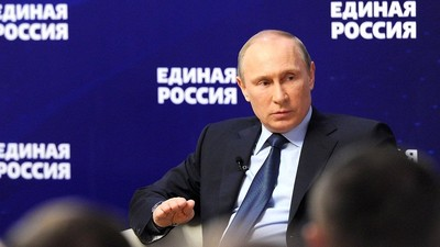 В. Путин обсудил проблемы образования на встрече с представителями «Единой России»