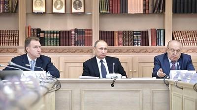 В. Путин призвал привлекать одарённых выпускников вузов к развитию национальной экономики
