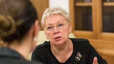 О. Васильева сказала «нет» интеллектуальной изоляции от Запада и призвала получать первое высшее образование в России