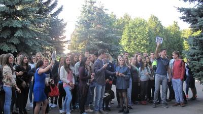 """6 сентября в колледже """"Царицыно"""" прошло мероприятие мультикультурный флешмоб """"Лучший город Земли"""""""