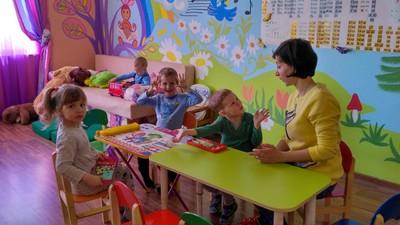В частный детский сад на ул. Богдановича г. Ялта ведётся набор групп деток от 2 до 7 лет .