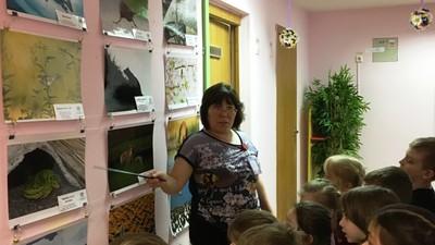 В школе №2025 для дошколят открылась фотовыставка РГО «Самая красивая страна»