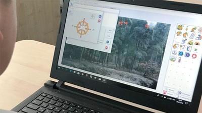 Дети в начальной школе программируют и создают анимацию