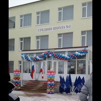 Школа МБОУ СОШ №3 с. Александров-Гай Саратовской области